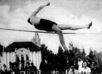 Gáspár Jenő 193 cm-es ugrása