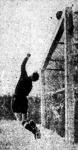 Wenz az ASV Nürnberg kapusa a kapu fölé tol egy veszélyes labdát