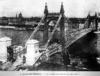 Az Erzsébet-híd Budapesten.