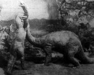 Allosaurus őskori szörny