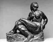 Beck Ö. Fülöp: Ülő női akt