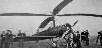 Cierva helikoptéra elülről