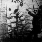 Mélytengeri kutató búvárpáncélöltözetben