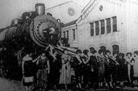 Vasúti állomás felavatása