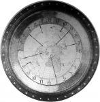 Világóra a földgömb térképével