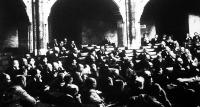 A kép a Nemzetgyűlés ülésén készült