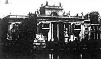 A Belvedere palota, melynek birtoklásáért véres küzdelmek folytak a felkelők és a kormányhű csapatok között