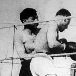 Beregi (fekete nadrág) és Spunner küzdelme az osztrák boxoló győzelmével végződött