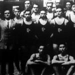 Az Európa bajnokságon résztvevő magyar úszó és vízilabdaválogatott