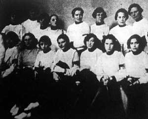 A magyar női tőrvívóbajnokság résztvevői