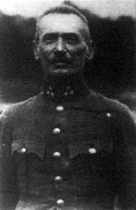 Berti László ezredes, a tőrvívás második helyezettje