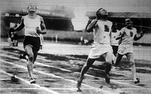 Fluck (x) nyeri a 100 métert Hajdu és Rózsahegyi előtt