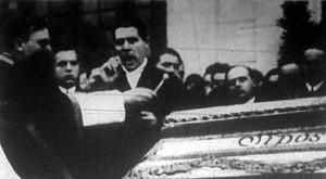 Sipos Márton temetése