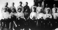 A győztes szegedi Ferenc József Tudományegyetem csapata
