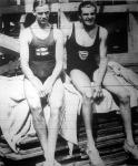 Arne Borg és Bárány István az úszó Európa bajnokság két főhőse