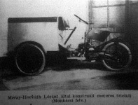 Motoros tricikli