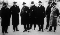 A prágai gazdasági bizottság tagjai Budapesten