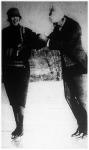 Henry Ford öreg korára is megőrizte teljes testi fürgeségét, gyakran hódol a korcsolyázás sportjának.