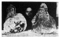 A német sertés sonkája. Egy-egy darabnak súlya 15 kilogramm.