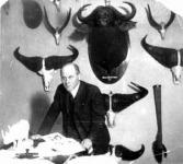 Kittenberger Kálmán a Nimród főszerkesztőjeként