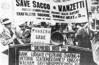 Tüntetés Sacco és Vanzetti mellett