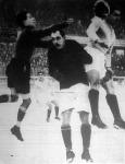 Újpesti támadás az FTC kapuja előtt az FTC-Újpest téli kupa mérkőzésen