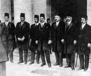 Fuad király és kisérete 1928