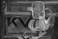 Sugár Andor - Csendélet a KUT folyóirattal