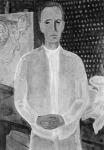 Bernáth Aurél:l  Önarckép