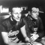 De Wolf (belga) és Van Kempen (holland) profikerékpárosok