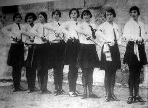 A Magyar Női Vívó Club bájos csapata