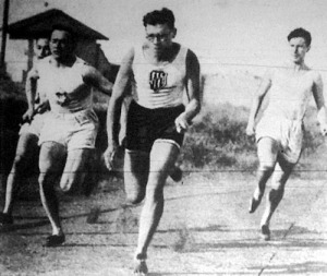 A 4x100 méteres válogatott staféta rekord idő alatt nyert