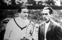 Kehrling Béla és Henri Cochet