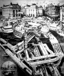 Földalatti vasútállomás Londonban