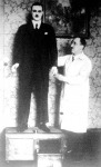 Tarján Ferenc a magyar gépemberrel