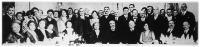 A magyar póstamesterek nagygyűlésének résztvevői