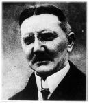 Dr. Schacht, a német birodalmi bank elnöke