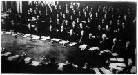 A hágai jóvátételi konferencia ülése
