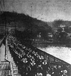 A kivonuló francia csapatok
