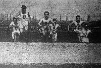 Magyarország 1929. évi futóbajnokságáról Ferihegyi, Hevele, Szerb, Kultsár, Belloni, Gyulai