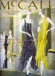 Párizsi divatlap 1929