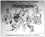 Az európai föderáció karikatúrája
