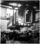 A világ legnagyobb vagongyára a London közelében lévő derbyi vasút-gyár,