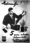 Hálózatról működő Philips rádió hirdetése