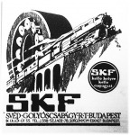 A Svéd Golyóscsapágy R. T. (SKF) hirdetése