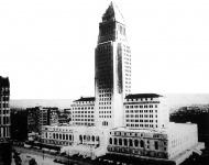 Városháza Los Angelesben. Ekkor a világ legszebb felhőkarcolójának tartották.