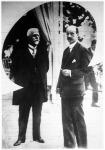 Schober osztrák szövetségi kancellár Budapestre érkezett.