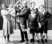 Mussolini és családja