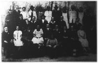 A palotási műkedvelő-gárda tagjai