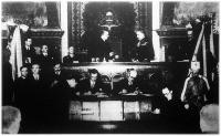 Budapest törvényhatósága rendkívüli közgyűlésén ismét Ripka Ferencet választották főpolgármesterré.